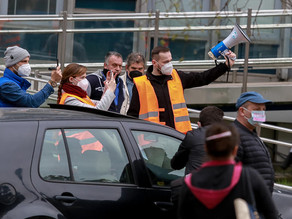 Protest proti novej parkovacej politike