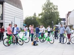 Verejná skúška bike sharingu v Martine