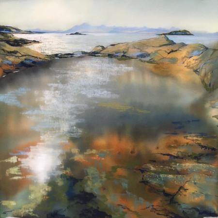 """Rock Pool Reflections"""