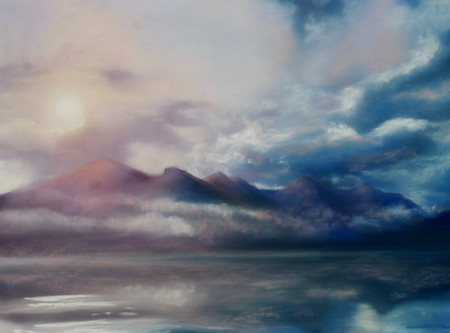 """""""Sunscape Loch Duich"""""""