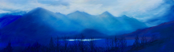 """Mountain Blue"""