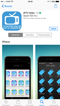 IPTV no IPHONE