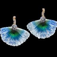 Panache earrings - Moonstone 18k White Gold