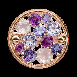 Sac de billes ring - Rose de France 18k Pink gold