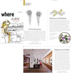 Magazine Where septembre 2014 collection Sac de billes