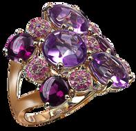Macarons ring - Rose de France 18k Pink Gold