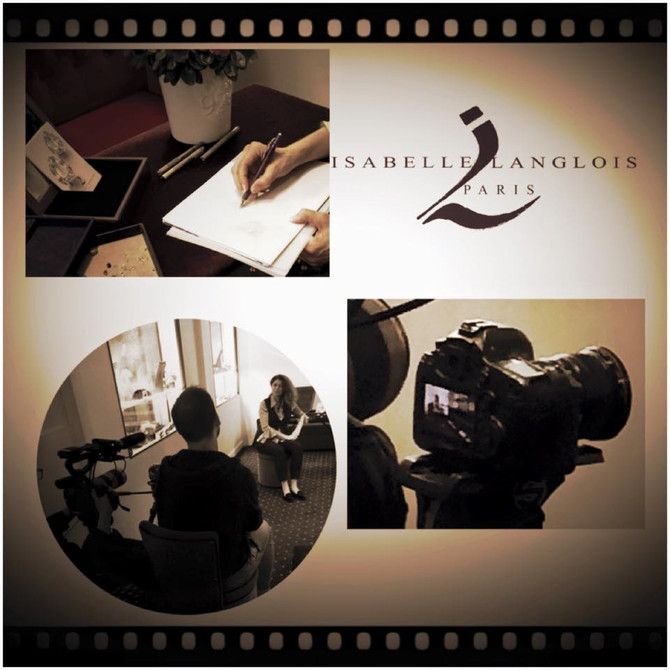 Isabelle Langlois sur TV5 Monde