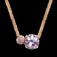 Macarons necklace - Rose de France 18k Yellow Gold