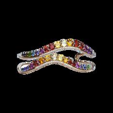 Ardèche bracelet - Rainbow 18k Pink Gold