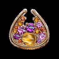 Petale pendant - Citrine18k Yellow Gold