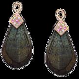 Panache earrings - 18k Pink Gold
