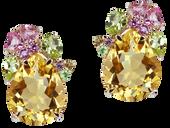 Boucles d'oreilles - Or Rose 18k