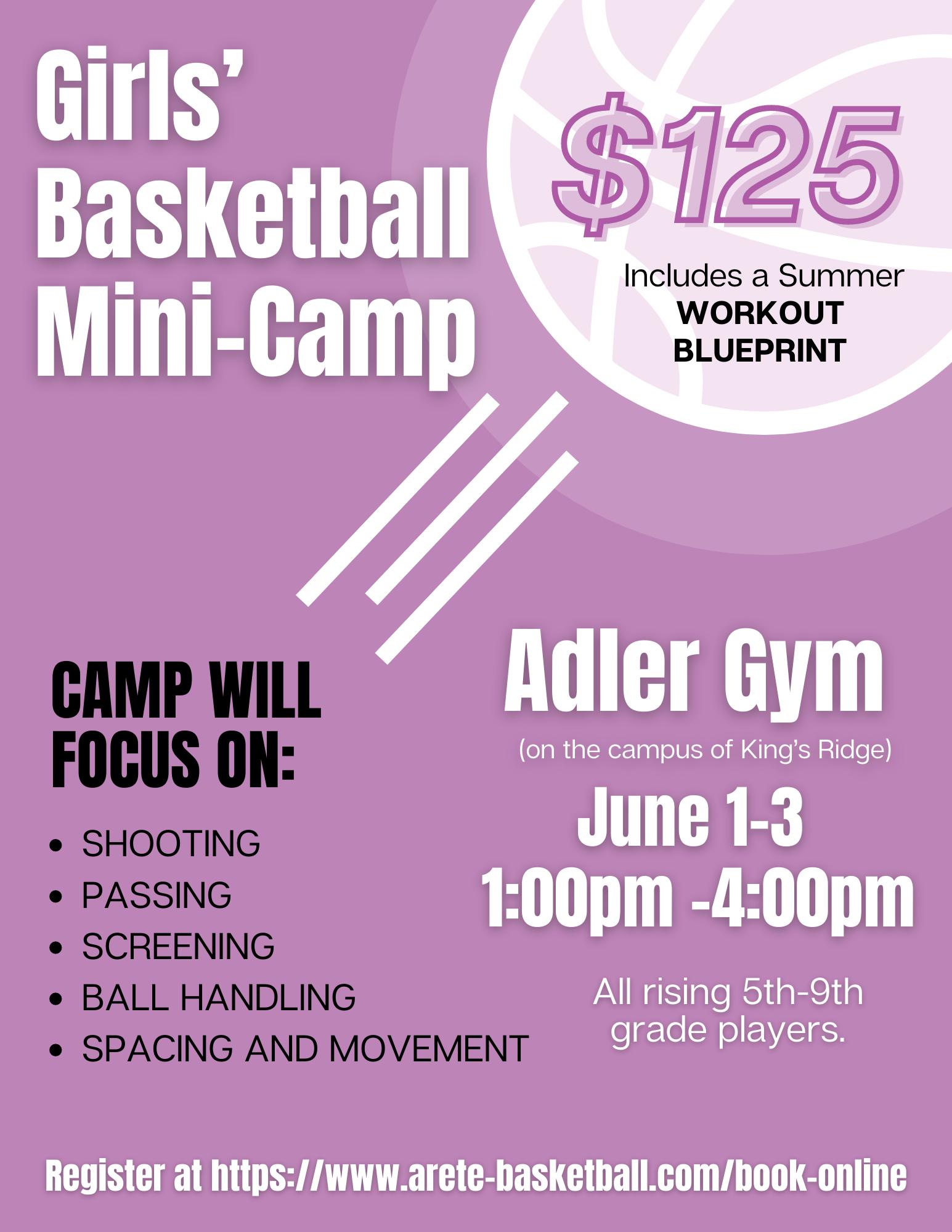 Girls' Basketball Mini-Camp