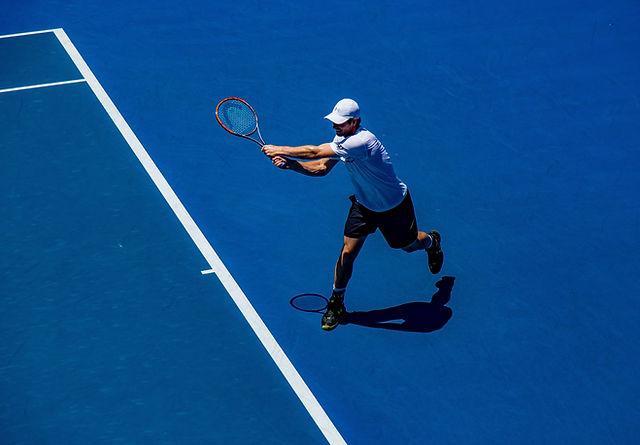 partita di tennis