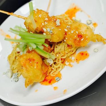 Shrimp Tempura Peanut Ramen