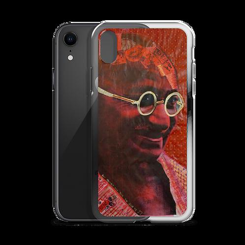 iPhone Case - Mohandas Karamchand Gandhi - by Schirka El Creativo