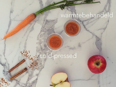 hittepasteurisatie vs cold-pressed pure