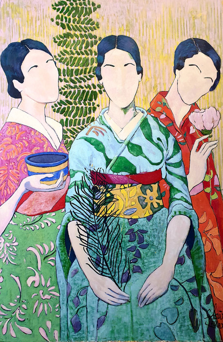 The Three Kimono's