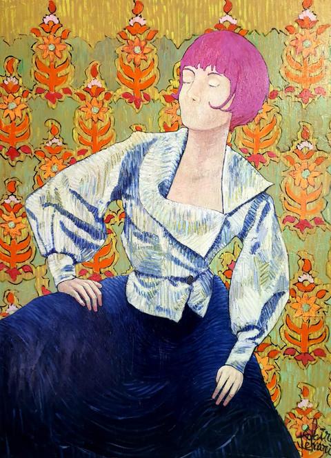 La Camicia 120cm x 90cm x 5cm  Acrylic on Canvas
