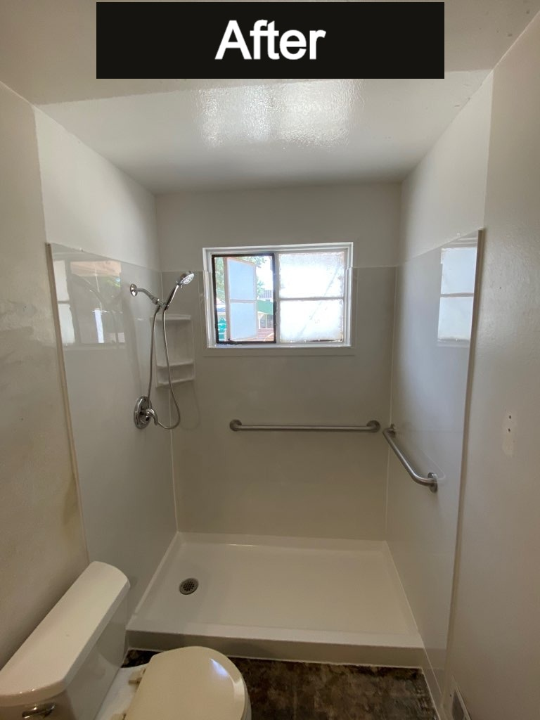 ADA Bathroom remodel after