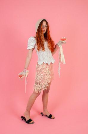 The Cinderella Corset & Skirt & The Lucinda