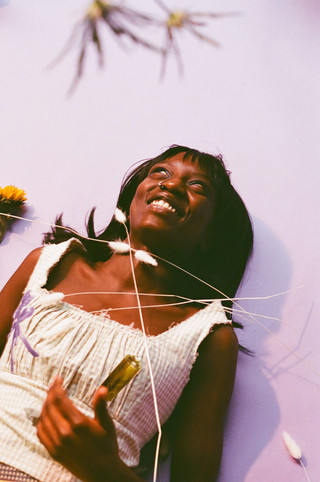 Gingham Romance Worn by Seerah for Garden of Earthly Delights  Shot and Styled by Maise Lee Art Direction by Alice Maia