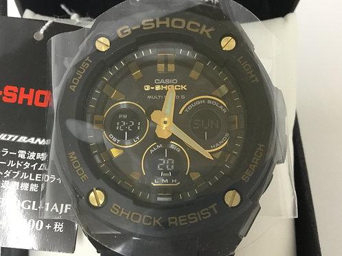 カシオ G-SHOCK マルチバンド6 GST-W300GL-1AJF ソーラー電波時計 メンズ 腕時計 20BAR デジタル 未使用品