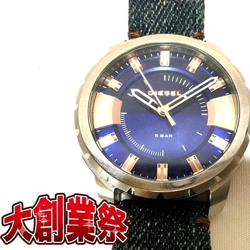 ディーゼル DZ-1722 メンズ 腕時計 クォーツ デニム