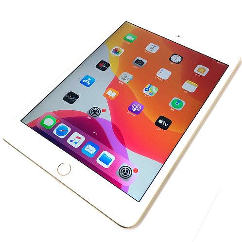 iPad mini 4 Wi-Fi + Cellular 32GB ゴールド docomo simロック解除済み 利用制限〇 本体 MNWG2J/A