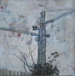 Untitled (crane IX)