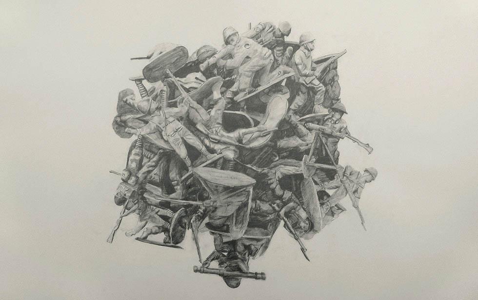 Untitled (pile II)