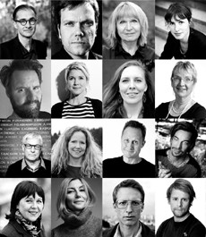 Författarna som medverkar på Författardagen 2016