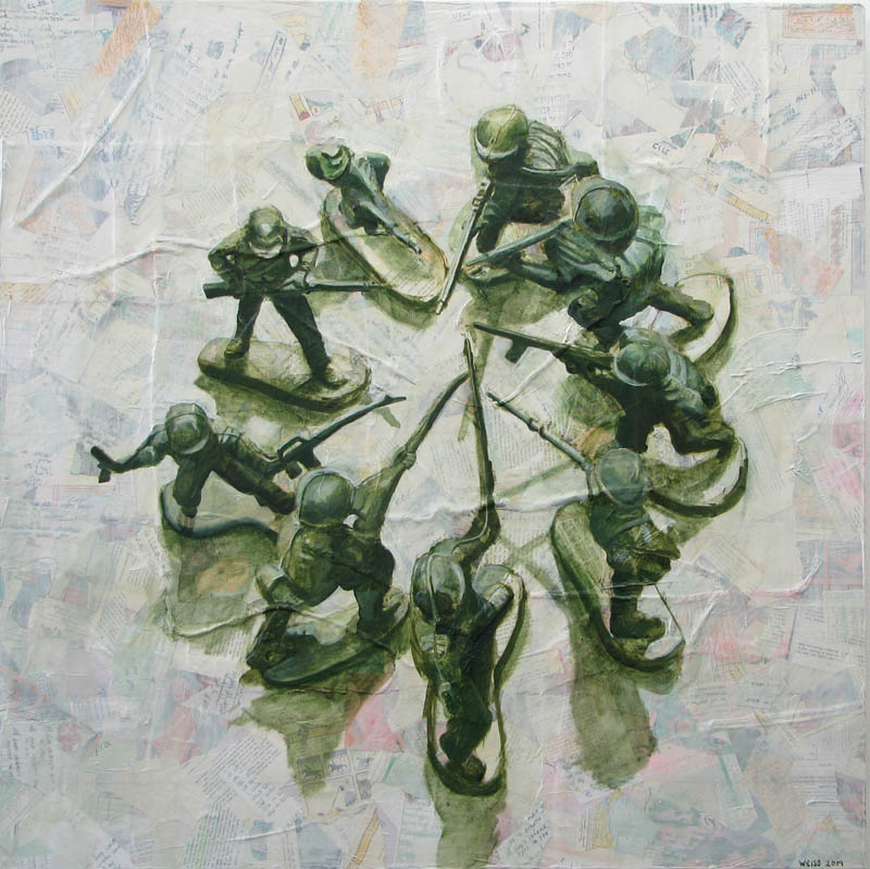 Untitled (soldiers in circle II)