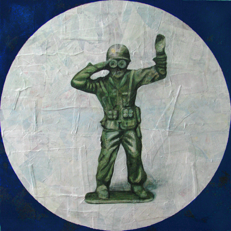 Untitled (soldier in circle II)