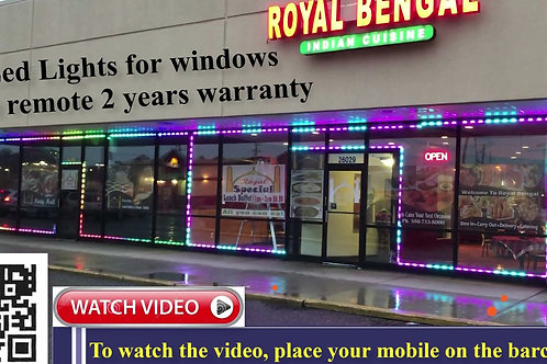 Led Window Store Front Multiple Colors Changed RGB12V waterproof samsung