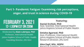 Pandemic Pulse Round 2: Two-Part Webinar to Share Findings from December