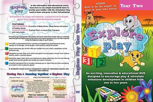Explore Play : 12 to 18 months