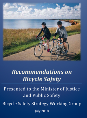 New Brunswick Working Group Recommendations on Bicycle Safety