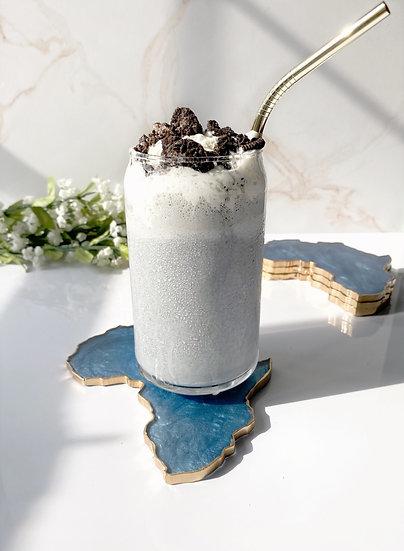 """Sky Blue """"Cookies & Cream"""" Shake"""