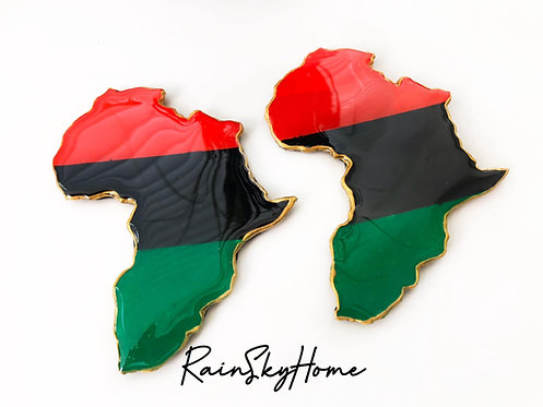 Pan African Africa Coasters