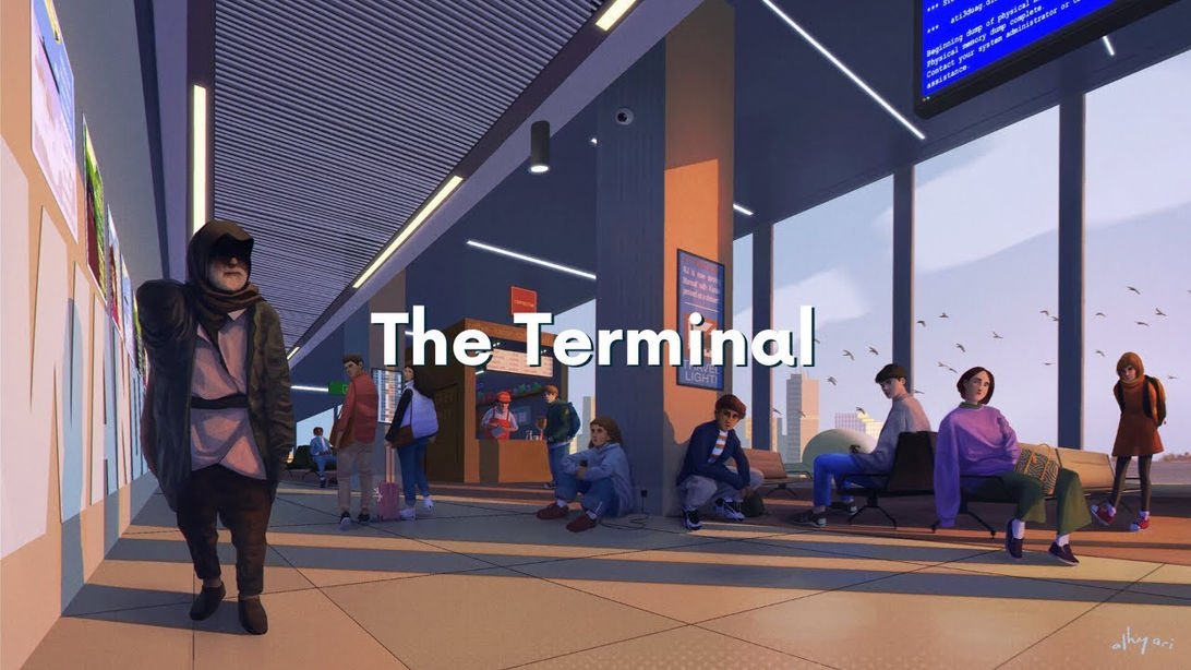 The Terminal | Narrative Digital Painting Timelapse Video