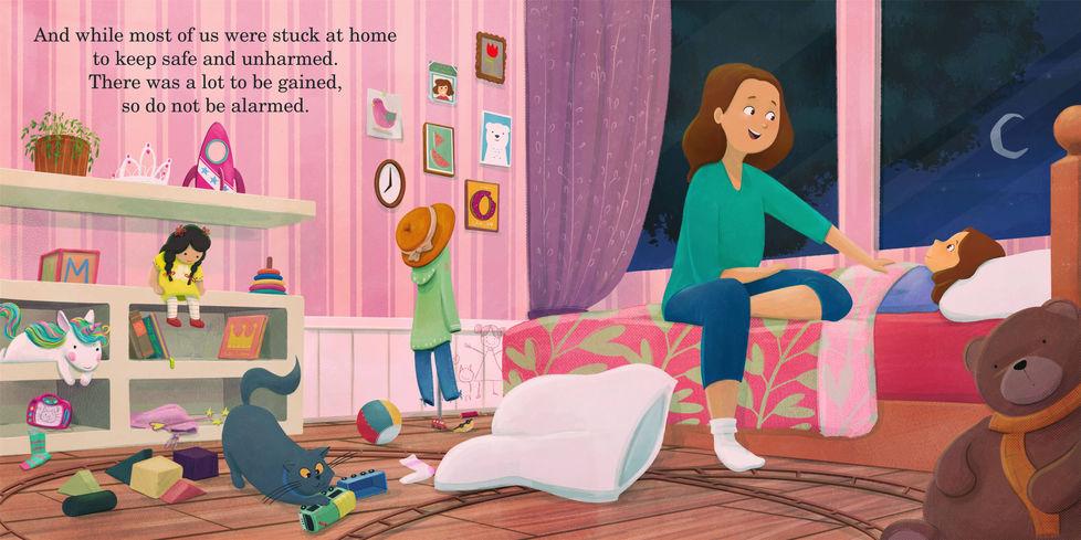 Born In The Time Of Corona | Children's Book Illustration