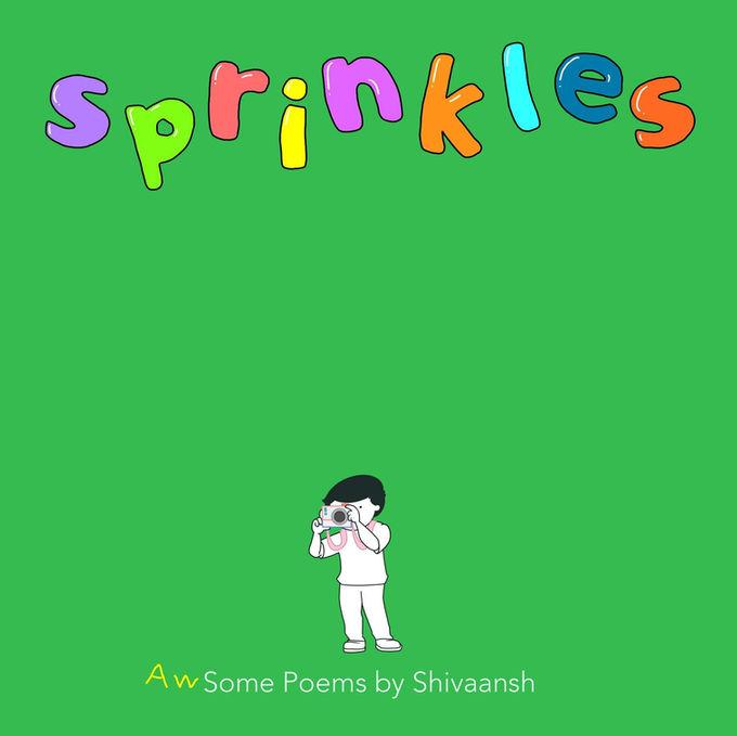 سبرنكلز | غلاف لكتاب أطفال