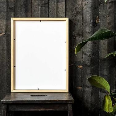 Premium Luster Photo Paper Framed Poster - Back