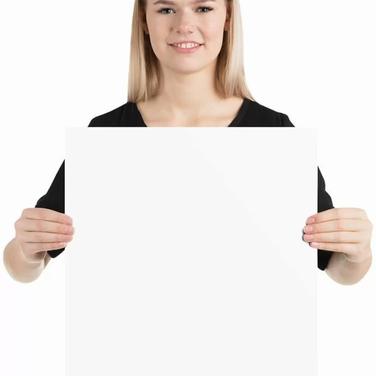 Premium Luster Photo Paper Poster - 16x16 inches - 40x40 centimeters