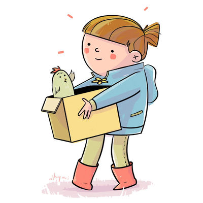 The Magic Box | Children's Book Illustration