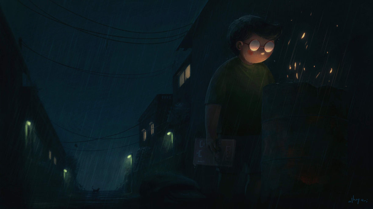 The Evidence | Narrative Digital Painting