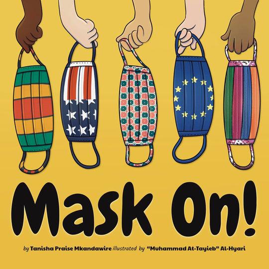 Mask On! | Children's Book Illustration