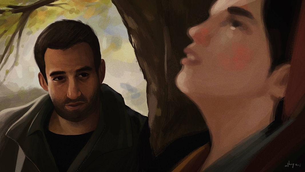 The Wild Pear Tree | Narrative Digital Painting