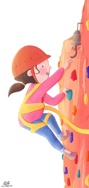 SHE DID IT! | Children's Book Illustration